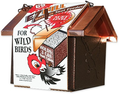 E-Z Fill Bottom Suet Feeder