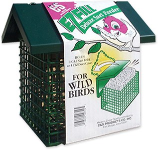 E-Z Fill Deluxe Suet Feeder with Roof