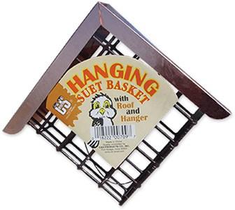 Hanging Bird Suet Basket