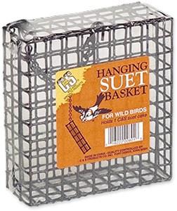Single Bird Suet Feeder with 1/2 Inch Wire