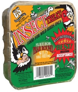 Insect Treat Suet Dough