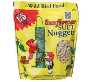Sunflower Suet Nuggets™ for Wild Birds