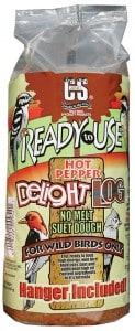 Hot Pepper Delight Suet Log