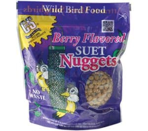 Berry Flavored Nuggets™ for Wild Birds
