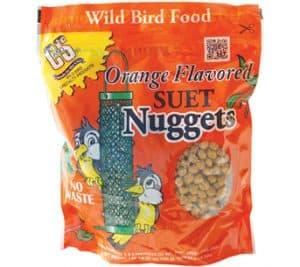 Orange Flavored Suet Nuggets™ for Wild Birds