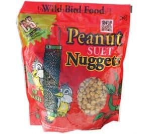 Peanut Suet Nuggets™ for Wild Birds
