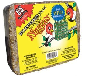 Woodpecker Snak™ with Peanut Suet Nuggets™