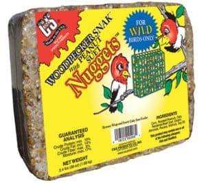 Woodpecker Snak™ with Peanut Suet Nuggets™