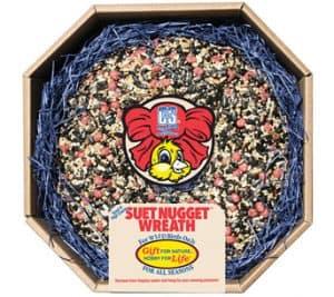Suet Nugget™ Wreath for Wild Birds