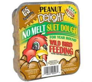 Peanut Delight No Melt Suet Dough for Wild Birds