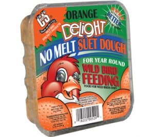 C&S Products Orange Delight No-Melt Suet Dough