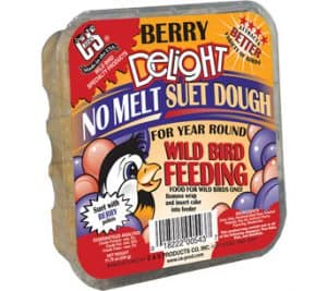 Berry Delight No Melt Suet Dough