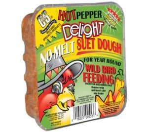 Hot Pepper No Melt Suet Dough