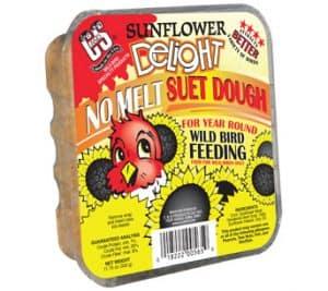 Sunflower Delight No Melt Suet Dough