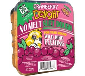 Cranberry Delight No Melt Suet Dough