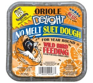 Oriole Delight No-Melt Suet Dough