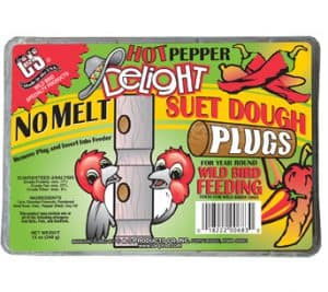 No Melt Hot Pepper Suet Dough Plugs