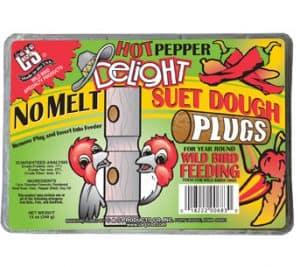 No Melt Hot Pepper Suet Dough Plugs