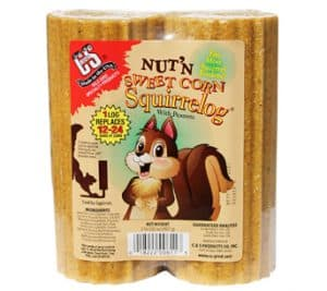 Nut 'N Sweet Corn Squirrelog® Refill